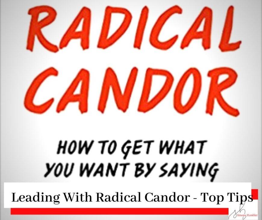 Radical Candor Book