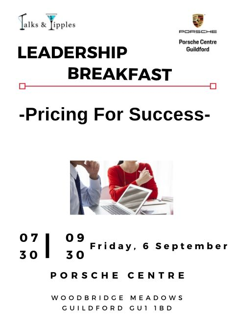 Leadership Breakfast - Guildford September 2019