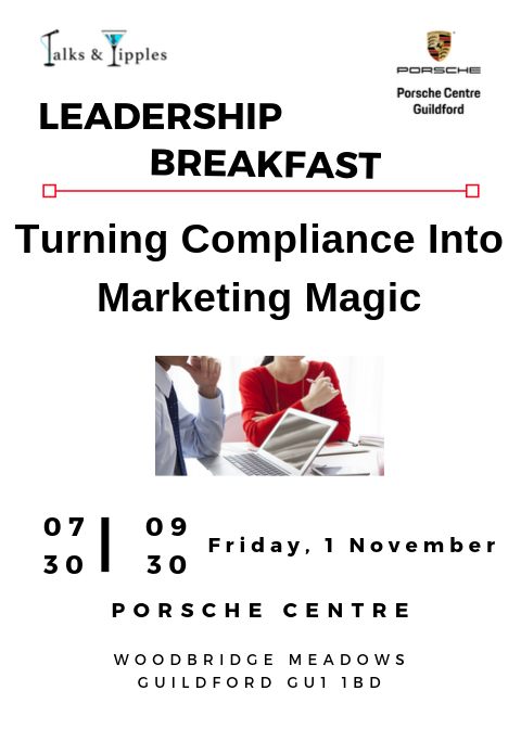 Leadership Breakfast - Guildford November 2019
