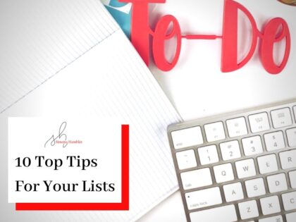 To Do word and keyboard Top Tips for To-Do Lists